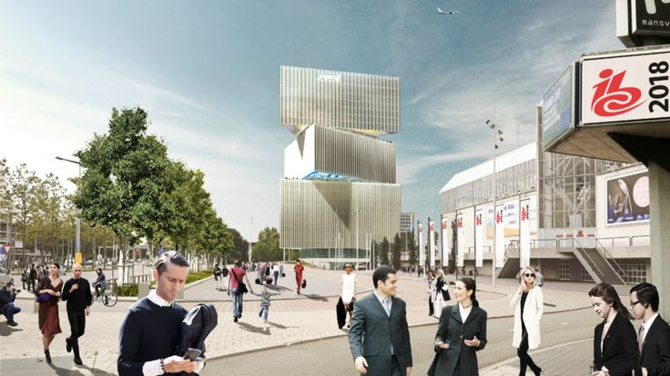 OMA Unveils Nhow Hotel Rai Project in Amsterdam