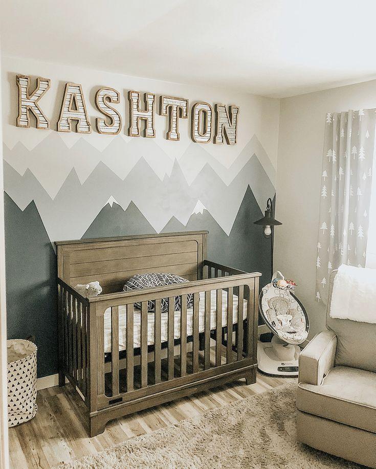 Baby Boy Nursery 2019 Mountain Themed The Post Baby Boy