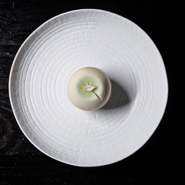 wagashi of the day Water lily