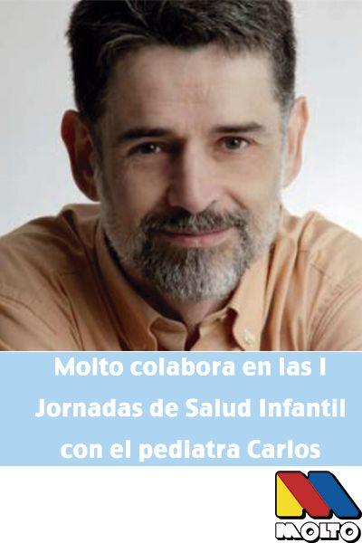 Molto colabora en las I Jornadas de Salud Infantil con el pediatra Carlos Gonzales. Sax