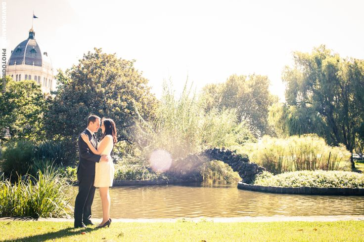Michelle & Kingsley Prewedding Photo at Carlton Garden - Melbourne