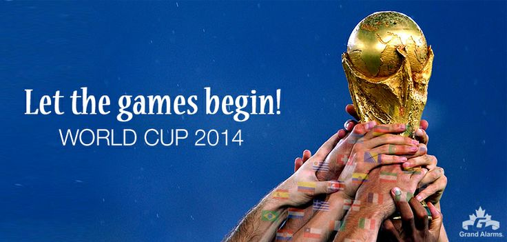 Who will you be cheering for? #worldcup2014 #grandalarms