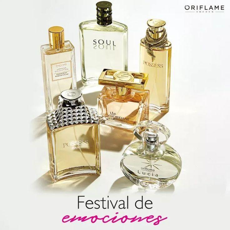 #Fragancias by Oriflame Cosmetics ❤MB