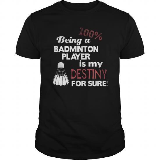 Cool Badminton T-Shirts