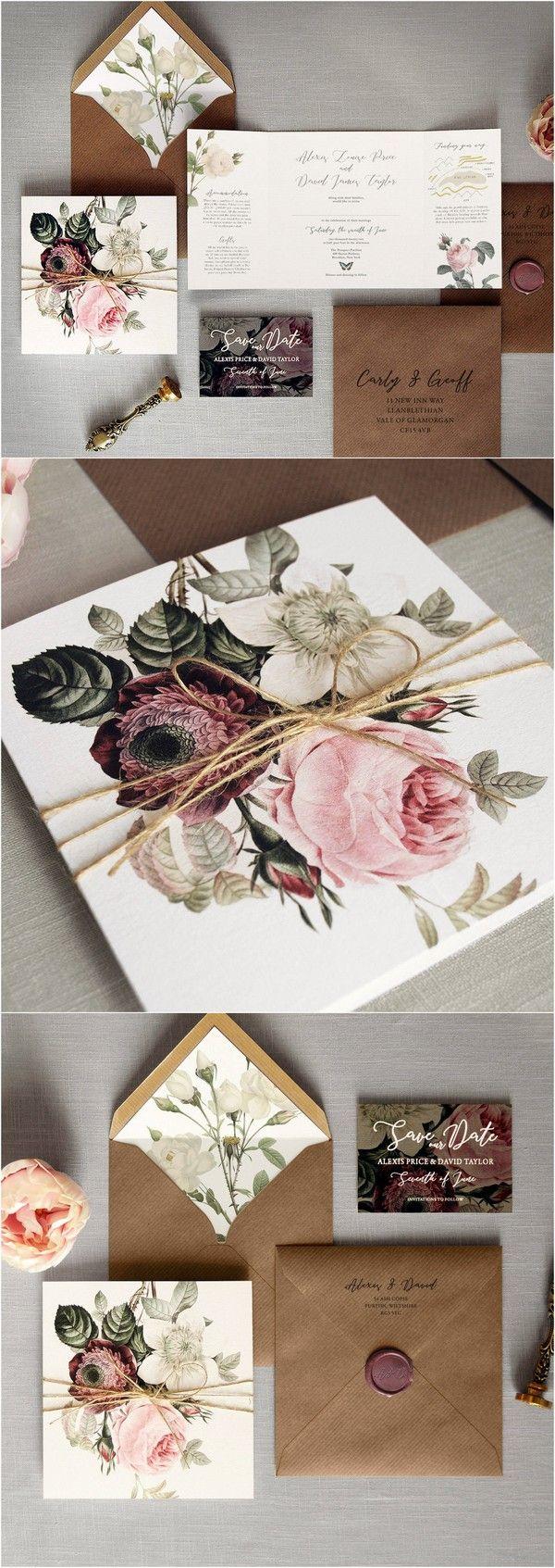 42 besten Einladungskarten & Papeterie - die perfekten Karten für ... - Einladungskarten Hochzeit Rosen