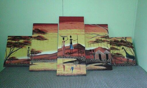 Confeccion de bastidores para tela pintada