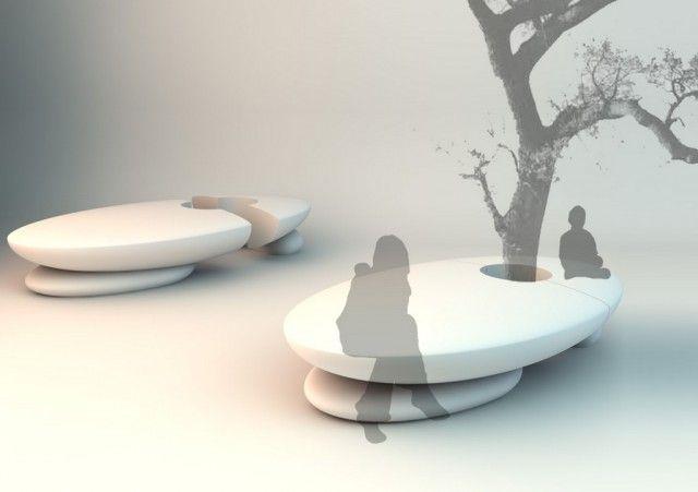 banco-arbol - furniture - urban design