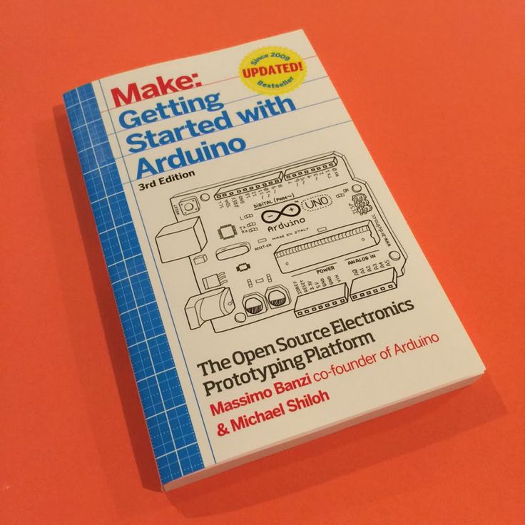'The best introductory book on Arduino'! Many thanks to @boingboing for the support.