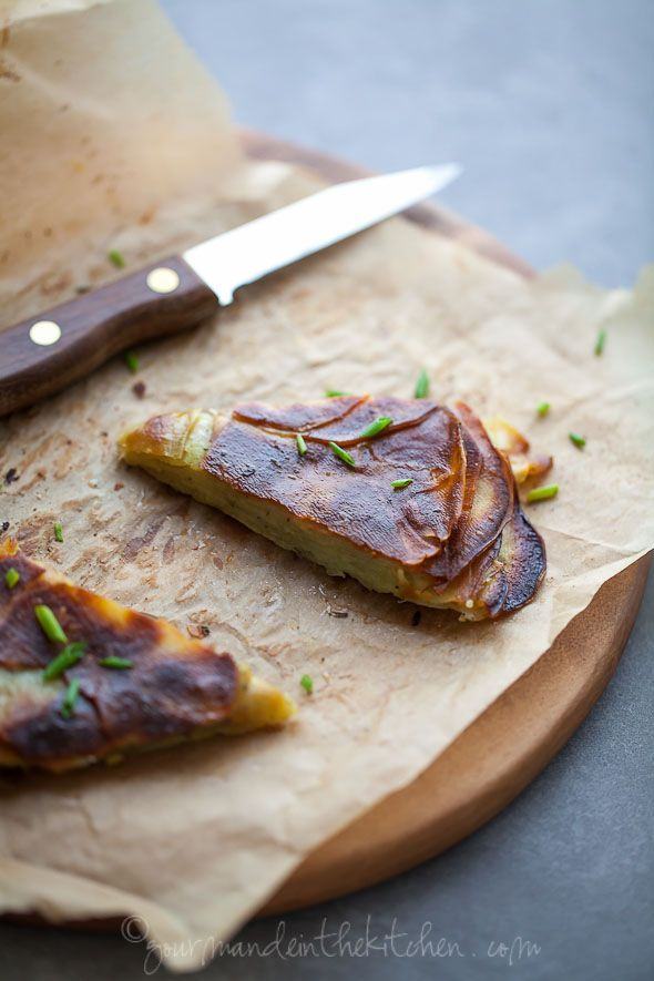 Asian Yam or Sweet Potato Galette from gourmandeinthekitchen.com  Rosemary Yam or Sweet Potato Galette @Sylvie   Gourmande in the Kitchen
