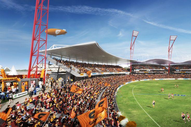 Spotless Stadium, Sydney. 3D visualisation by Scharp #scharp #3dvisualisation #3dvisualization #stadium