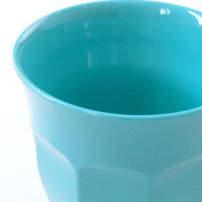 rice メラミンカップ ターコイズ