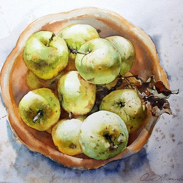 Яблоки с Родины Плоды напитанные солнцем и наполненные всем добрым, что может дать благодатная земля.