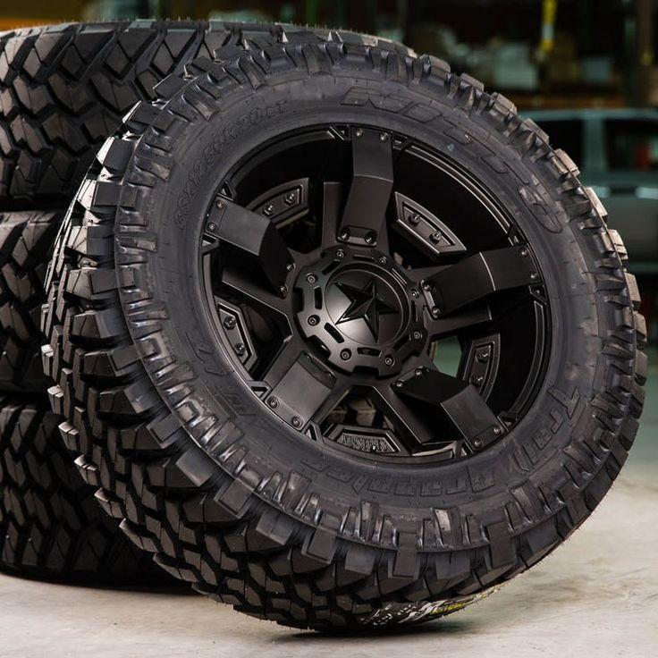 KMC Rockstar XD811 Rockstar 2 Black Wheels For Sale & KMC Rockstar XD811 Rockstar 2 Rims And Tires