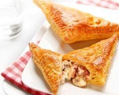 Chaussons aux champignons et au boursin (facile, rapide) - Une recette CuisineAZ