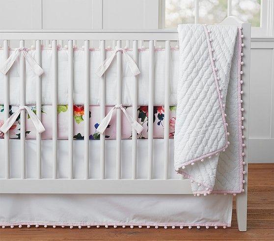 Organic Pom Pom Nursery Bedding | Pottery Barn Kids