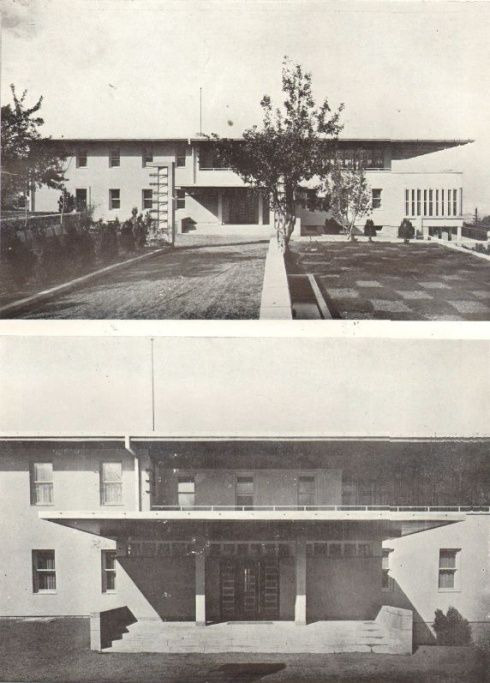 Seyfi Arkan, Residence for the Foreign Minister, Ankara, 1933-1934, photograph.