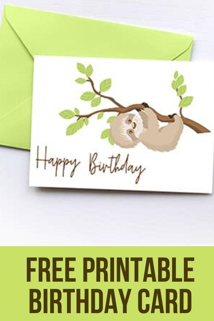 Free Printable Birthday Card Free Printable Birthday Cards Belated Birthday Card Birthday Card Printable
