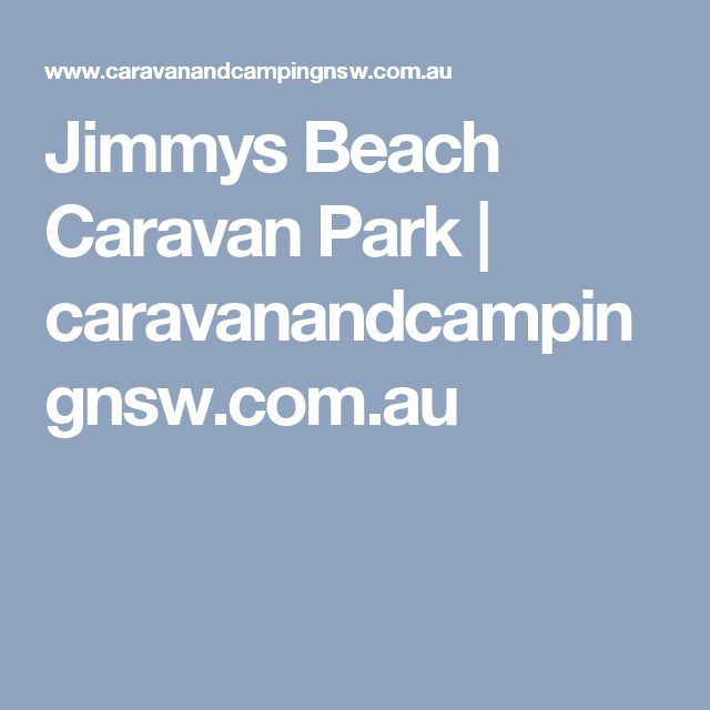 Jimmys Beach Caravan Park | caravanandcampingnsw.com.au