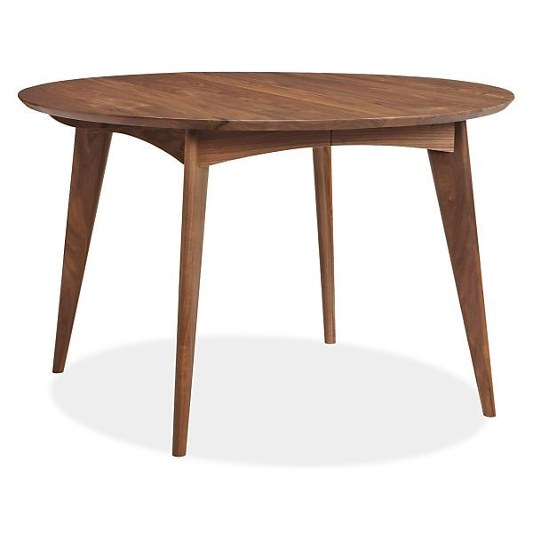 Ventura round extension tables other extension dining for Round dining room table extendable
