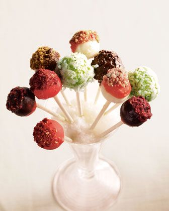Chocolate Covered Cheesecake Pops! | events | dessert + decor | Pinte ...