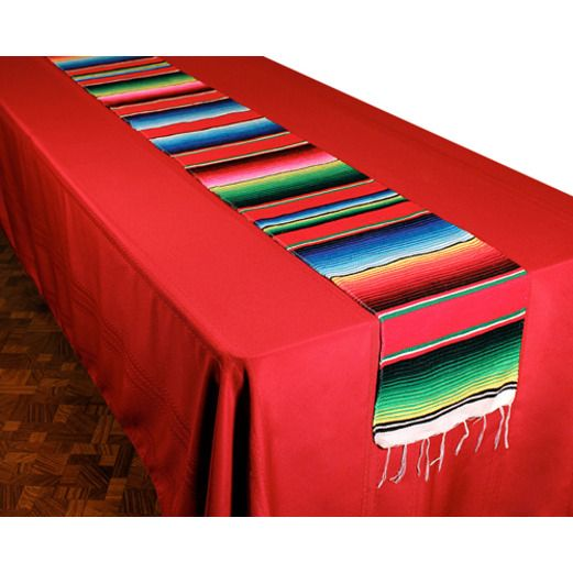 Woven Serape Table Runner - Table Accessories at Amols' Fiesta Party Supplies