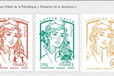 Voici le nouveau timbre Marianne, fabriqué à Boulazac
