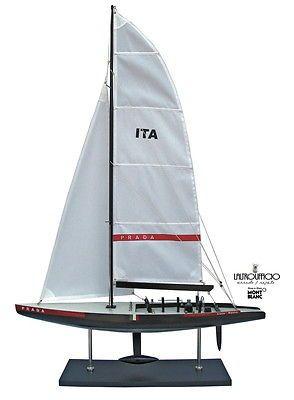 MODELLINO BARCA A VELA LUNA ROSSA AMERICAN'S CUP 526 BATELA SC 15% in Giocattoli e modellismo, Modellismo statico, Barche, navi, imbarcazioni | eBay