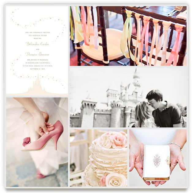 Enchanted Stars Disney Wedding Inspiration Board, curated by Jody Wody at Minted.