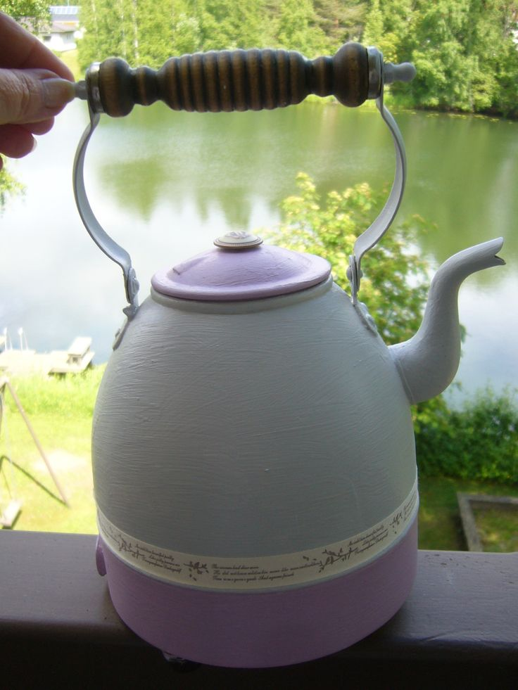 A old coffee pot