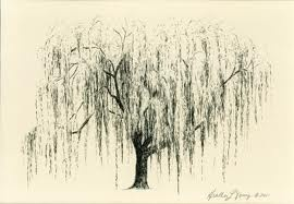 i want a weeping willow tree too.   very small.