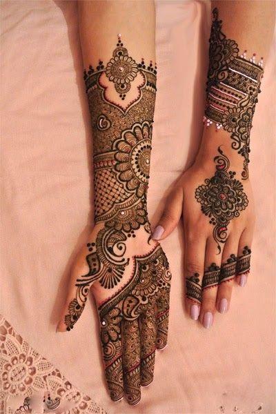 Latest Mehendi designs special Eid days for women 2015-2016 (9)
