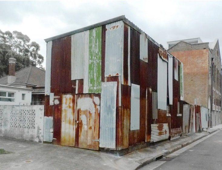 original tin Shed in Sydney by Rafaello Rosselli   Remodelista