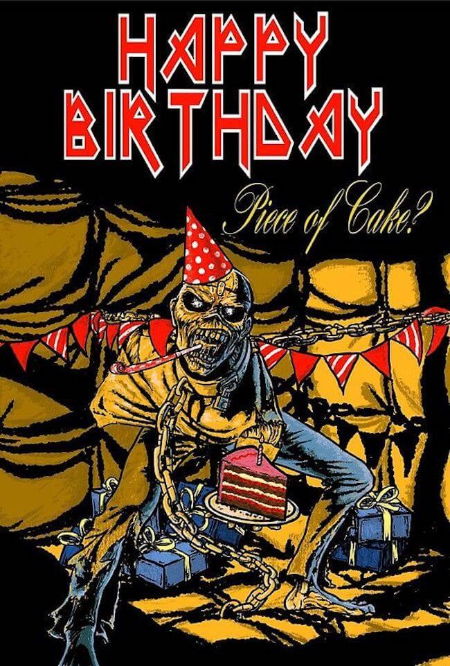 Happy Birthday Metal Meme : happy, birthday, metal, Happy, Birthday, Memes, Getting, Older, Breese, Maiden,, Meme,, Maiden, Posters