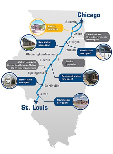 RESEARCH AND ADVOCATE FOR HIGH-SPEED RAIL - #66 High-Speed Rail - Illinois High-Speed Rail Project