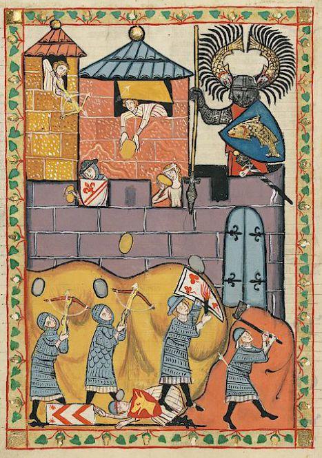 Manesse Codex - (1300 - 1340) Der Düring