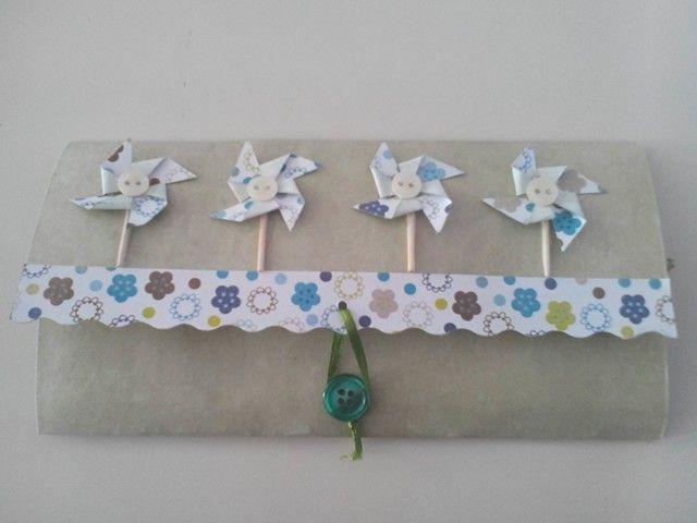 Biglietto portasoldi girandole! www.minimondodianita.com