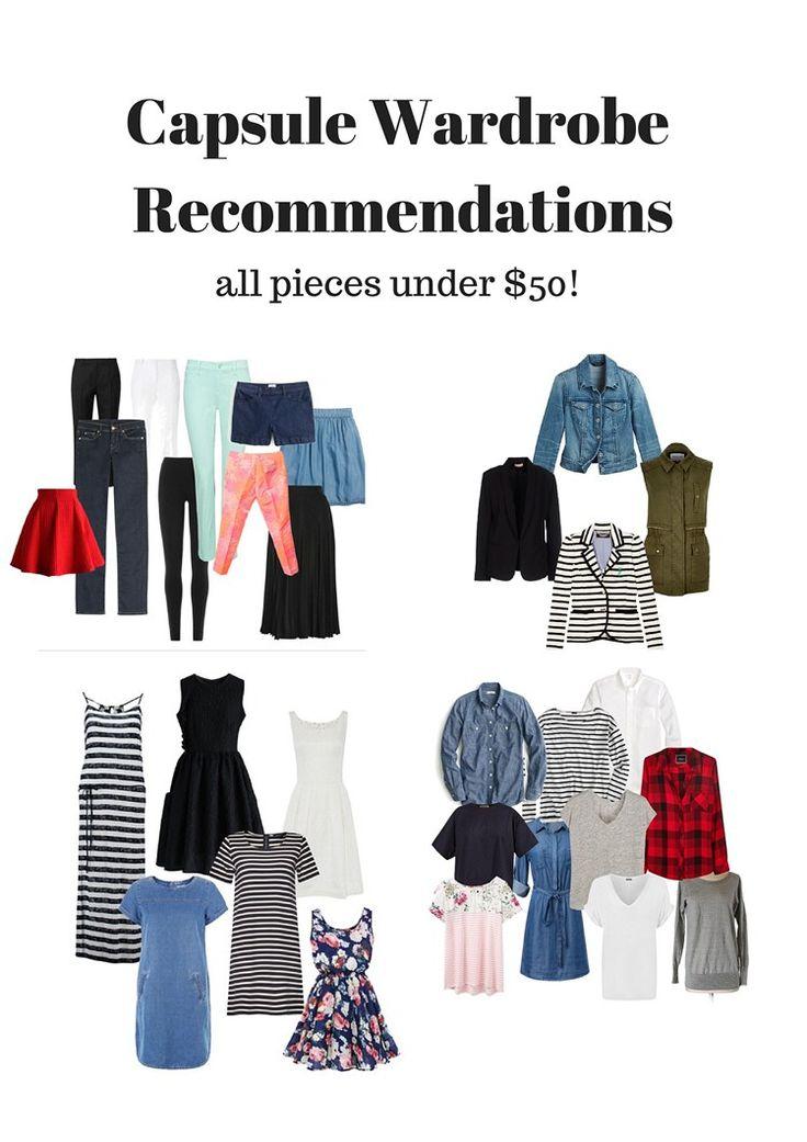 431 Best Fashion Capsule Ideas Images On Pinterest