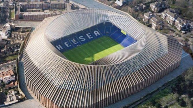 chelsea stadion | Das neue Chelsea Stadion soll 2020 fertig sein. Dann rollt dort der ...