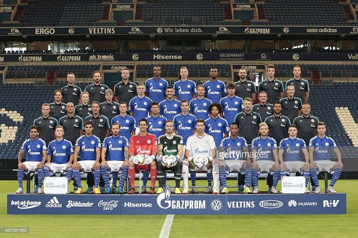 FC Schalke 04 during Team Presentation at Veltins-Arena on July 17, 2015 in Gelsenkirchen, Germany.