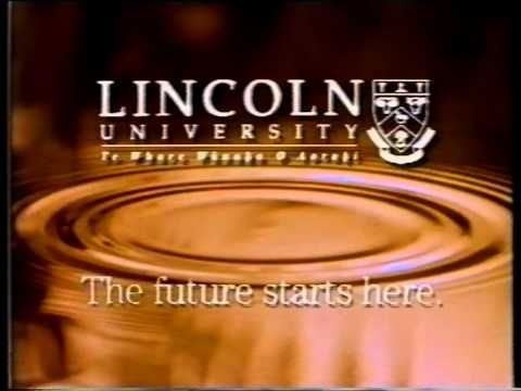 Check out this old Lincoln University ad