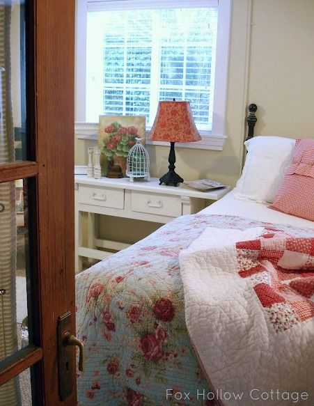 Cottage Bedroom | #cottage #bedroom