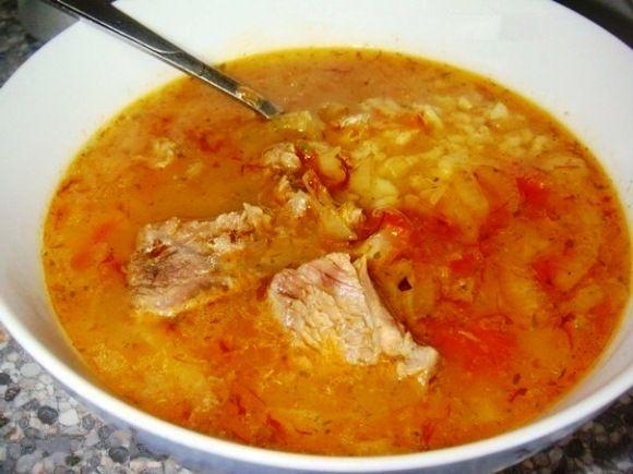 Ароматный, наваристый и сытный суп харчо в мультиварке - лучший пряный зимний суп для тех, кто любит простые и вкусные блюда грузинской кухни