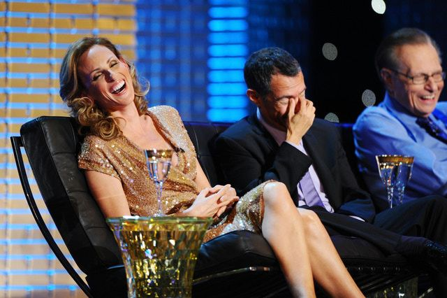The Comedy Central Roast of Donald Trump:   Marlee Matlin proves to be a good sport during the Comedy Central Roast of Donald Trump, taped March 9, 2011, in New York City.