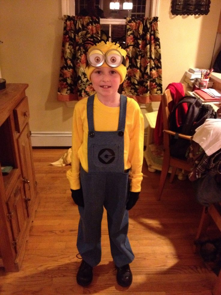 So this year, my 8 year old asked to be a Minion for Halloween. I was psyched! Not since he asked me to make him a Buzz Light Year costume have I been so happy with his choice. Trevor is famous for...