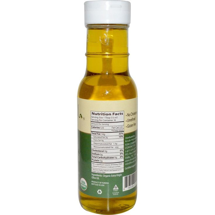 Kevala, Extra Virgin Organic Olive Oil, 8 fl oz (236 ml)