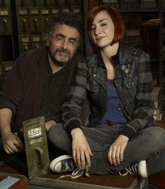 Love them!! Warehouse 13 ~ Artie & Claudia!