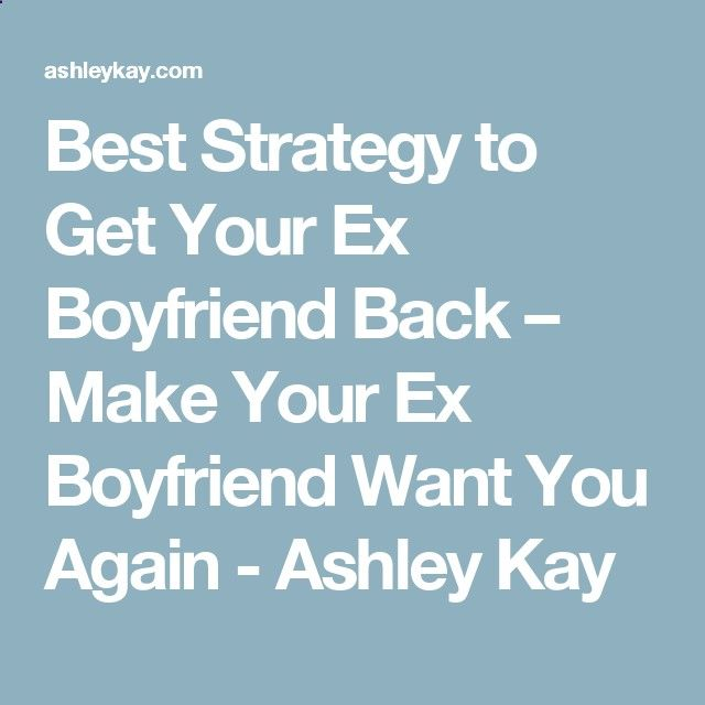 how to win your ex heart back