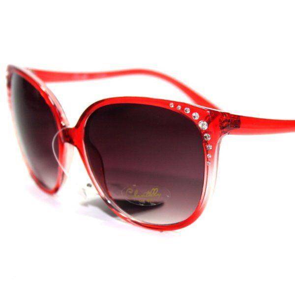 Chant1 S4 Chantilly Eyewear Stylish Rhinestone Cat Eye Women S Sunglasses Shady Eyes ・x