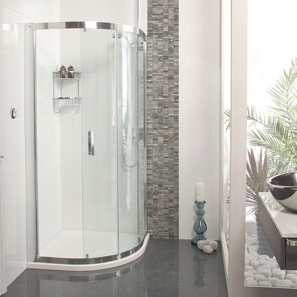Shop the Roman Embrace Single Door Quadrant Shower Enclosure and give your bathroom a modern, practical setup. Now available at Victorian Plumbing.co.uk.