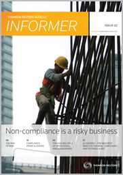 NON-COMPLIANCE IS A RISKY BUSINESS  This Issue Casts Light On The Growing Emphasis Of Operational Risk And The Extensive Changes Taking Place In Risk Management.